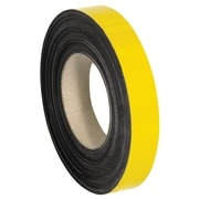 "Warehouse Labels, Magnetic Rolls, 1"" x 100', Yellow, 1/Case (LH139)"