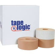 """Tape Logic® #7700 Reinforced Water Activated Tape, 3"""" x 450', Kraft, 10/Case (T9077700)"""