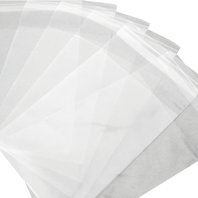 Resealable Polypropylene Bags 1.5 Mil, 4 1/8