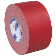 "Tape Logic® Gaffers Tape, 11 Mil, 4"" x 60 yds., Red, 12/Case (T98918R)"