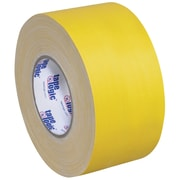 "Tape Logic® Gaffers Tape, 11 Mil, 4"" x 60 yds., Yellow, 3/Case (T98918Y3PK)"