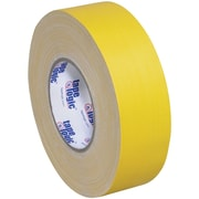 "Tape Logic® Gaffers Tape, 11 Mil, 1"" x 60 yds., Yellow, 3/Case (T98618Y3PK)"