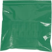 "Reclosable Poly Bags, 2 Mil, 12"" x 15"", Green, 1000/Case (PB3670G)"