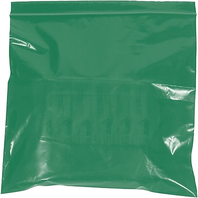 Reclosable Poly Bags, 2 Mil, 12