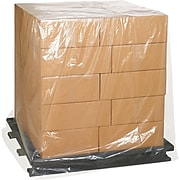 """Pallet Covers, 3 Mil, 72"""" x 42"""" x 54"""", Clear, 50/Case  (PC183)"""