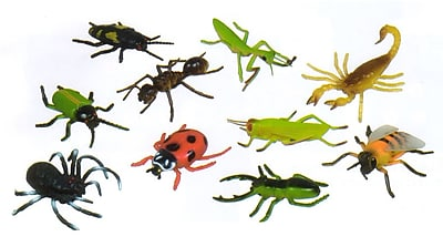 """""""""""Get Ready Kids 5"""""""""""""""" insects, set of 10 (876)"""""""""""" 23976611"""
