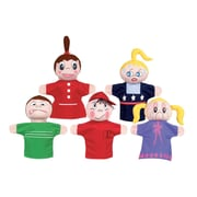 "Get Ready Kids 12"" feelings puppets, Caucasian, set of 5 (420)"