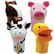 "Get Ready Kids 12"" farm puppets, set of 4 (200123)"