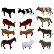 "Get Ready Kids 6"" farm animals, set of 12 (870)"