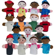"Get Ready Kids 10"" career puppets, set of 15 (450999)"