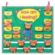 "Get Ready Kids 24"" x 22"" feelings chart (801)"