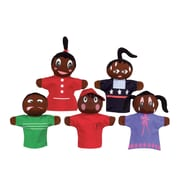 "Get Ready Kids 12"" feelings puppets, African American, set of 5 (420)"