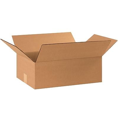 Flat Corrugated Boxes, 17 1/4