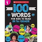 Scholastic® 100 Words For Kids To Read In 1st Grade (SC-832310)