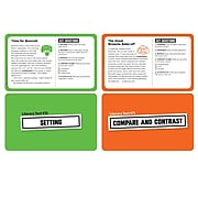 100 Task Cards in a Box: Literary Text for Grades 4-6 (SC-855266)