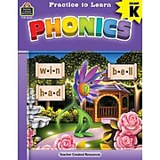 Teacher Created Resources® Practice to Learn: Phonics, Grade K (TCR8232)