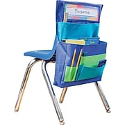 """Teacher Created Resources 15""""W Chair Pocket, Blue, Teal & Lime (TCR20970)"""
