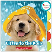 Rookie Toddler® Listen to the Rain by Janice Behrens, Board Book (9780531127049)
