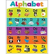 "Teacher Created Resources® 17"" x 22"" Colorful Alphabet Chart (TCR7926)"