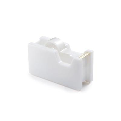 """""Insten Desktop Acrylic Tape Dispenser with Tape (1"""""""" Core) - White/Gold (4.76"""""""" x 1.81"""""""" x 2.59"""""""")"""""" 24008856"