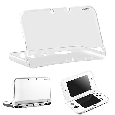 Insten® Translucent Clear TPU Protective Shell Case Cover Skin For Nintendo New 3DS XL / New 3DS LL(2278611)