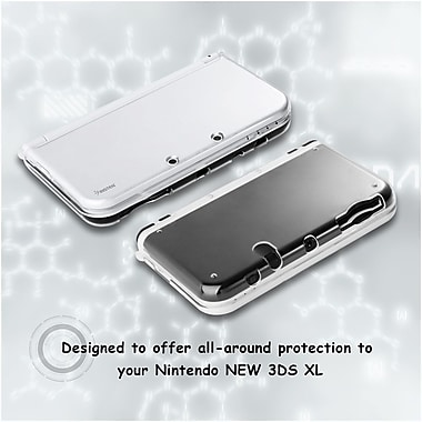 Insten® Crystal Clear Hard Protective Shell Cover Case For Nintendo New 3DS XL / New 3DS LL(2278610)