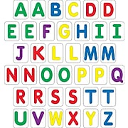 Barker Creek Learning Magnets®, Uppercase Letters with extras, Ages 3-8 (LM1120)