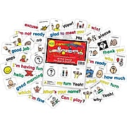 Barker Creek PCS® Learning Magnets®, 45 Social Phrases & Questions (LM3040)