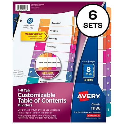 Diamond Clear Box of 50 Letter Avery 73802 Quick Top /& Side Loading Sheet Protectors