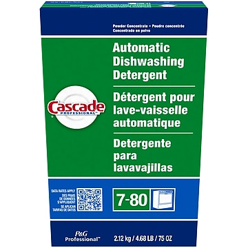 Cascade Professional Dishwasher Detergent Powder, Fresh Scent (59535)