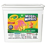 Crayola Model Magic 2 lb. Buckets, Assorted Colors, 4/Pk (23-2413)