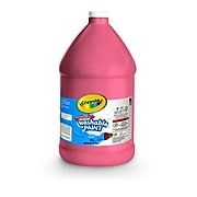 Crayola Washable Paints, Red, 1 Gallon (54-2128-038)