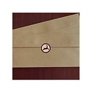 "Great Papers Buffalo Plaid Seal, 1"" Dia., Multicolor, 25/Sheet, 2 Sheets/Pack (2019122PK2)"