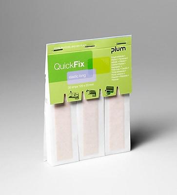 Plum Quickfix Fabric Bandage Dispenser Refill, Long, 2 Pack (5508-2)