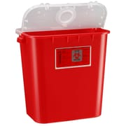 Bemis Sharps Container, 8 Gallon, Red, 10 Pack (108030-10)