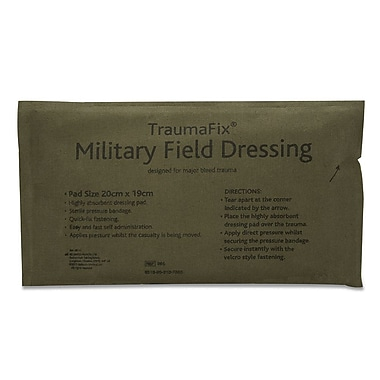 Reliance Medical Military Dressing Bandage, Large, Pack of 10 (965-10)