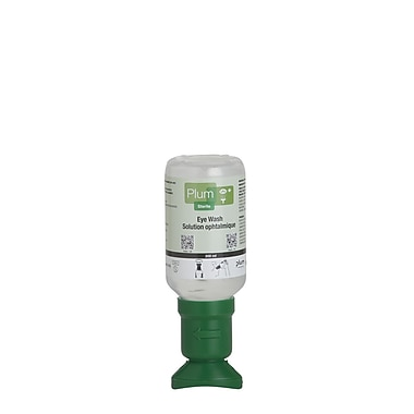 Plum Saline Eyewash Bottle, 6.8 oz, 10 Pack (45991-10)
