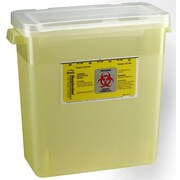 Bemis Sharps Container, 3 Gallon, Yellow, 12 Pack (303040 12) by