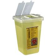 Bemis Phlebotomy Container, 1 Quart, Yellow, Box of 100 (100040-100)
