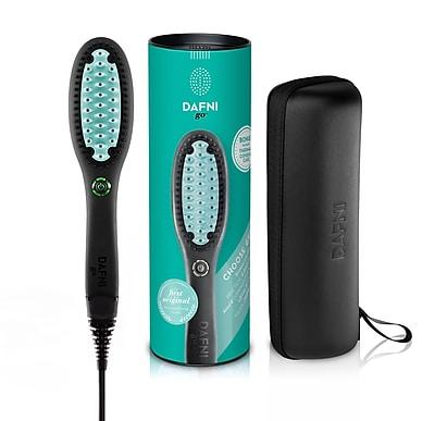 DAFNI go™ Portable Hair Straightening Brush, Green (DH1.1GO-G)