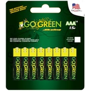 GoGreen Power Alkaline AAA 24pk Batteries