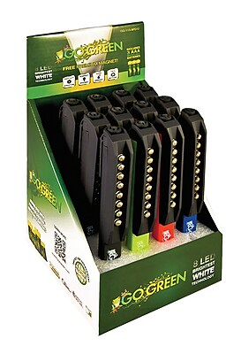 GoGreen Power 8 LED Pocket Light Display, Assorted Colors - GG-113-8PD12