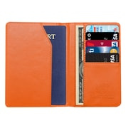 Travergo PU Leather Passport Holder, Orange TR1240OR