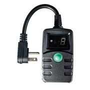 GoGreen Power Digital Outdoor Timer, Black - GG-36003
