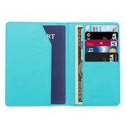 Travergo PU Leather Passport Holder, Blue TR1240BL