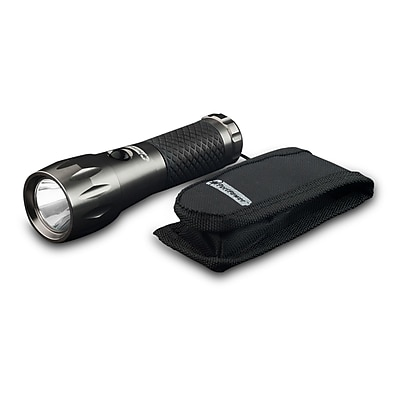 GoGreen Power 3 Watt LED Professional Tactical Flashlight, Gray - GG-113-01-3T