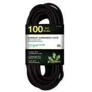 GoGreen Power 14/3 100' Heavy Duty Extension Cord, Black - GG-13800BK