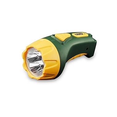 GoGreen Power 4 LED Rechargeable Flashlight, Green - GG-113-04RC