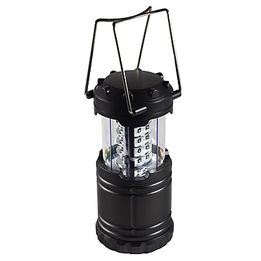GoGreen Power 30 LED Pop Up Lantern, Black - GG-113-30LPOP