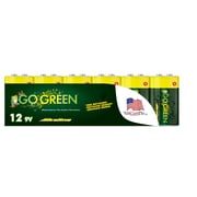 GoGreen Power Alkaline 9V 12pk Batteries